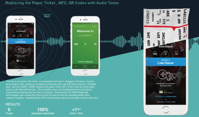 Аудиоданные заменяют билеты